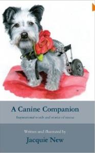 Jaquie New a canine companion